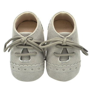 Baby Nubuck Leather Moccasins