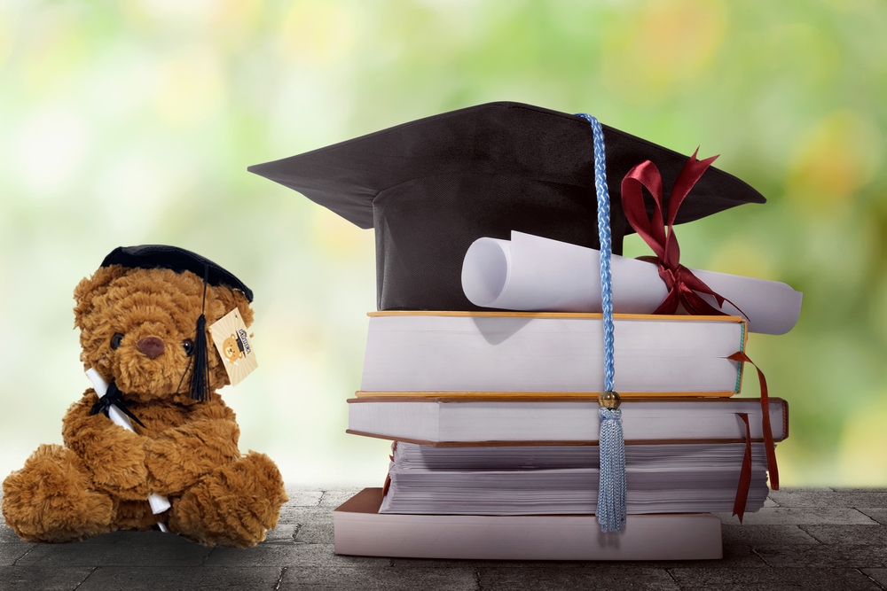 Graduation Plush Teddy Bear: The Perfect Graduation Present For Children & Adults
