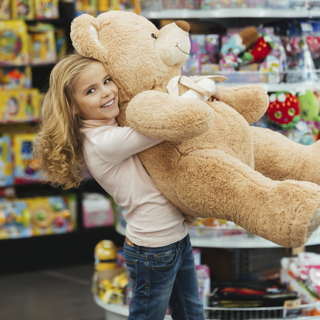Which is the biggest Teddy Bear?