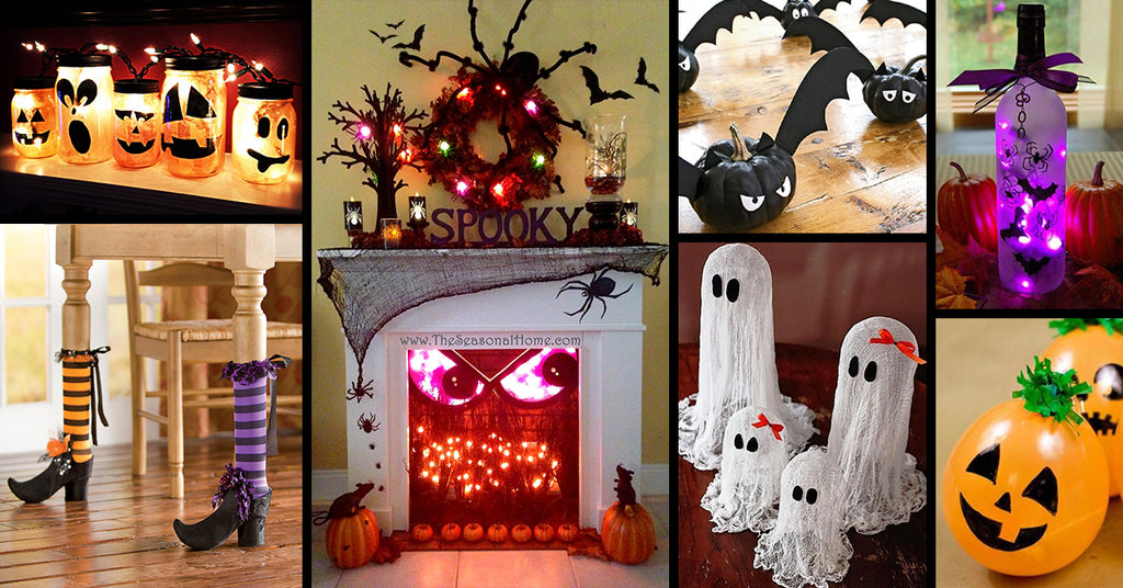 Halloween ideas if you don't want to leave the house