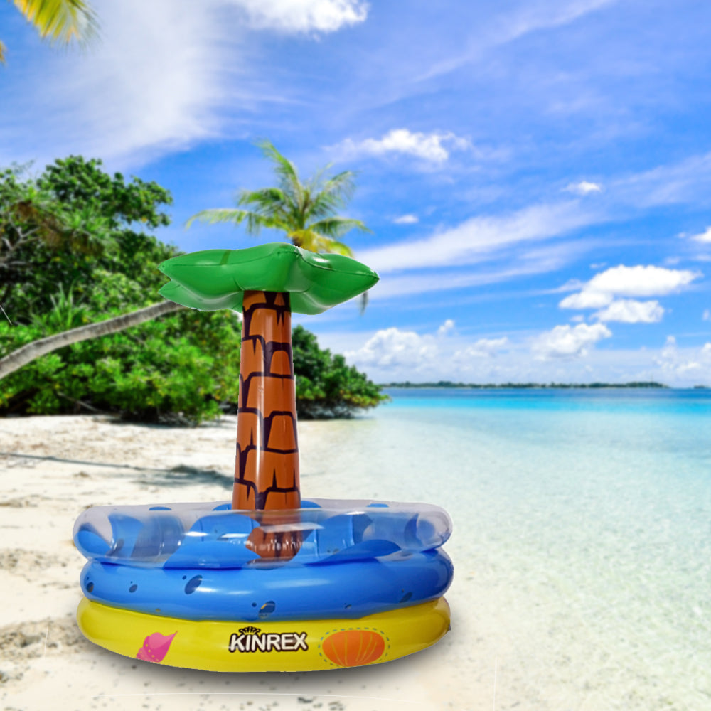 Inflatable Palm Tree Beverage Cooler