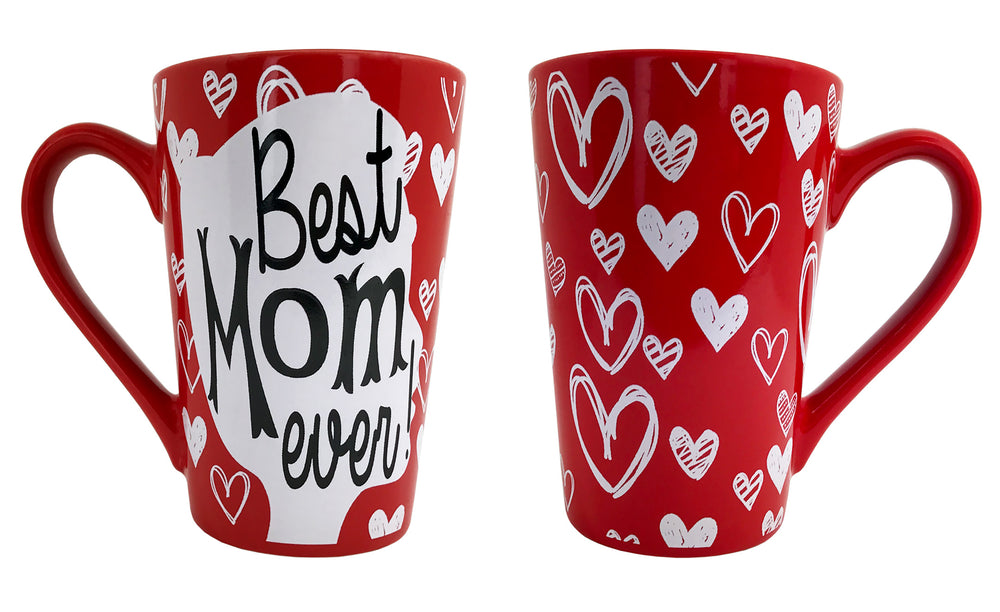 Coffee Mug - Best Mom Ever Coffee Mug - Mug Gift For Mom - KINREX LLC
