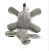 Grey Elephant Plush Pacifier Holder Stuffed Animal