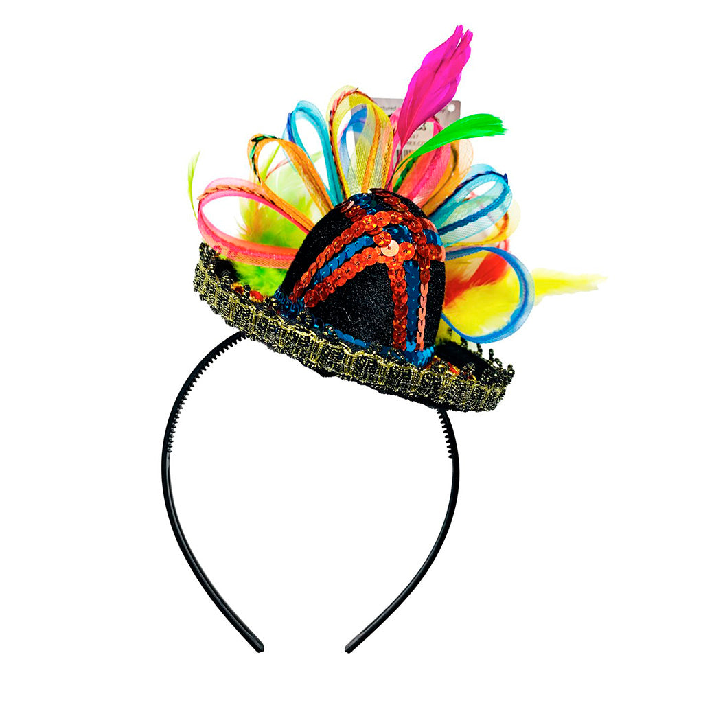 Cinco de Mayo Hat - Mexican Party Sombrero Headband - Top Mexican Party Hat - One Size Fits All