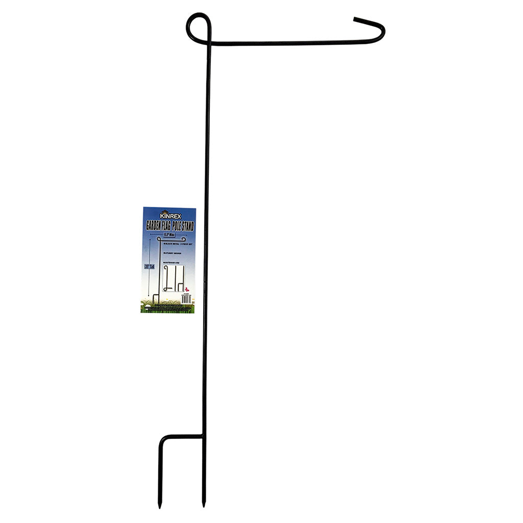 Garden Flag Stand, Garden Flag Pole, Flag Holder - KINREX LLC