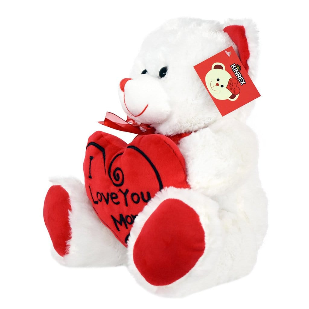 Teddy Bear For Mom - I Love You Mom Teddy Bear - Mother's Day Teddy Bear