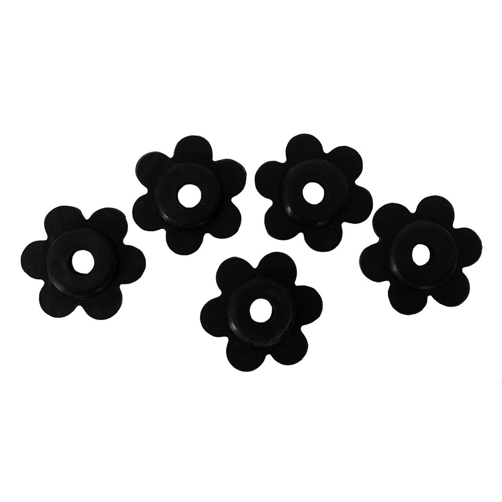Flag Stoppers - Set Of 5 Rubber Garden - KINREX LLC