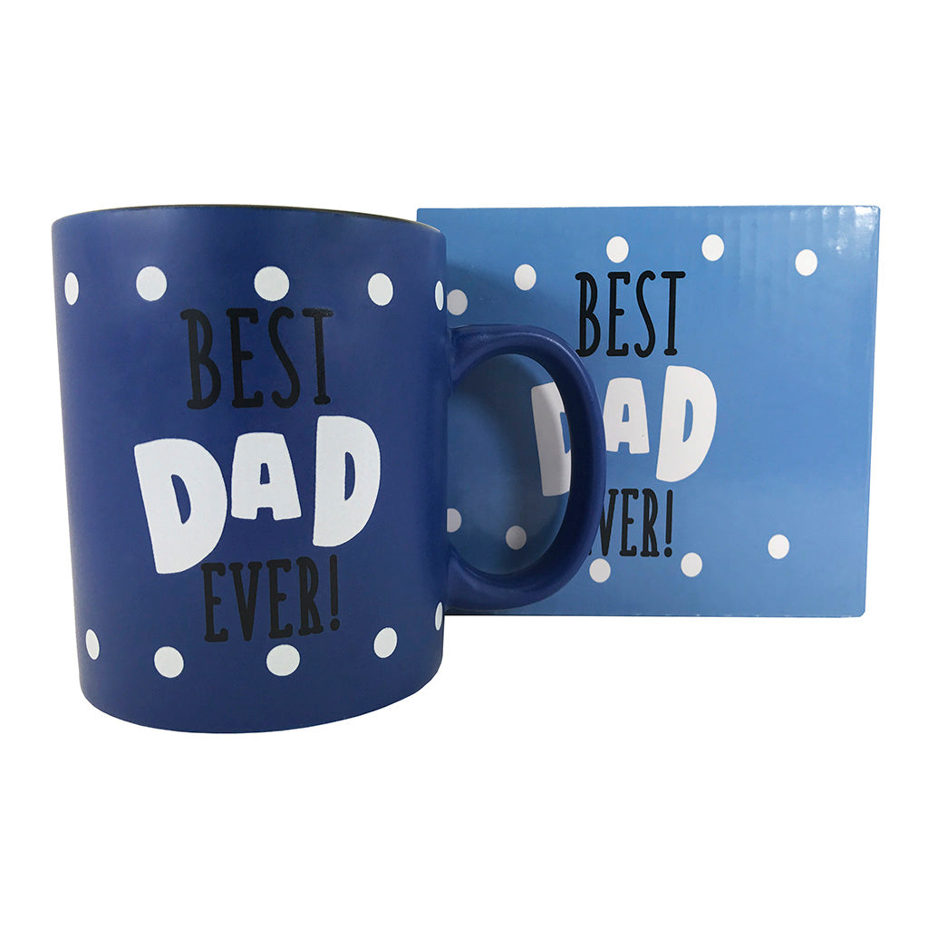 Coffee Mug - Best Dad Ever Coffee Mug - Mug Gift For Dad - KINREX LLC