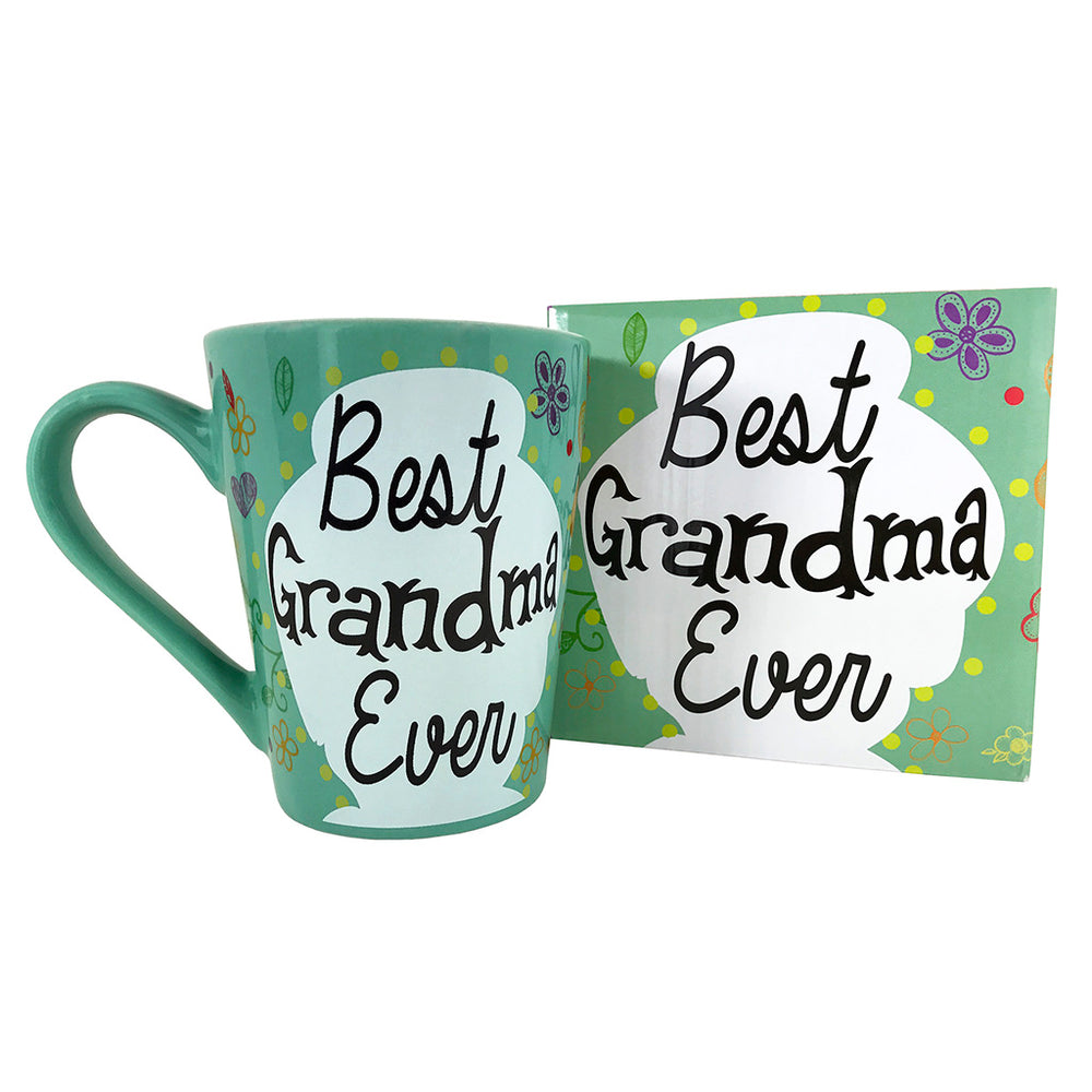 Coffee Mug - Best Grandma Ever Coffee Mug - Mug Gift For Grandma