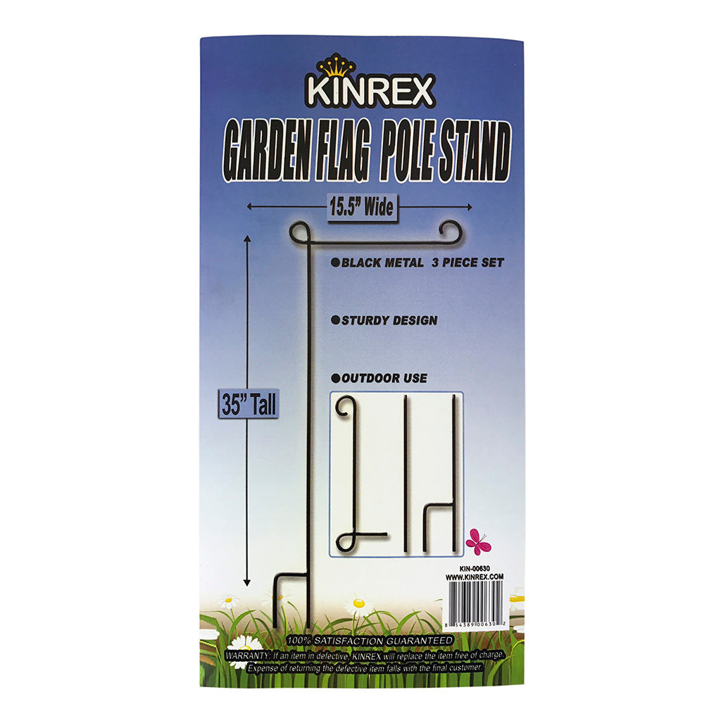 Garden Flag Stand, Garden Flag Pole, Flag Holder