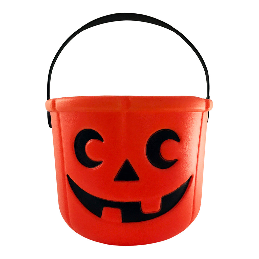 Halloween Buckets - Halloween Basket - Pumpkin Bucket For Trick Or Treat - KINREX LLC