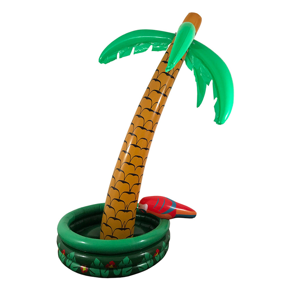Inflatable Palm Tree Cooler - Inflatable Beverage Cooler - Over 5 Feet Tall