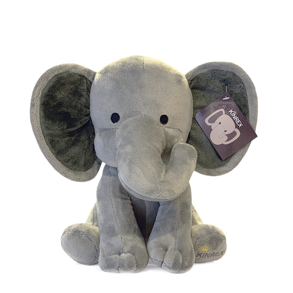 Elephant Stuffed Animal - Plush Elephant Toy - Plush Toy - KINREX LLC