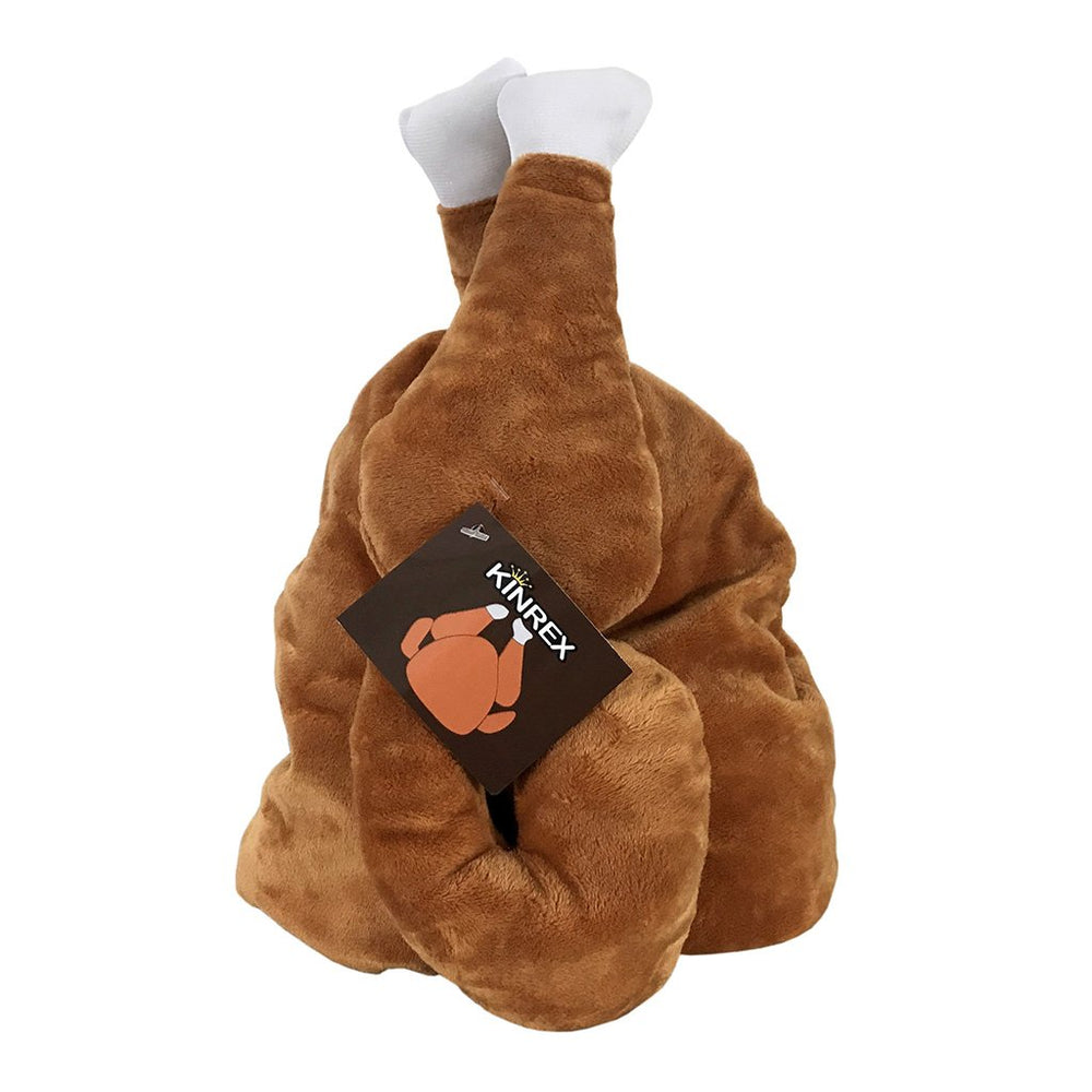 Turkey Hat - Funny Plush Thanksgiving Hat - KINREX LLC