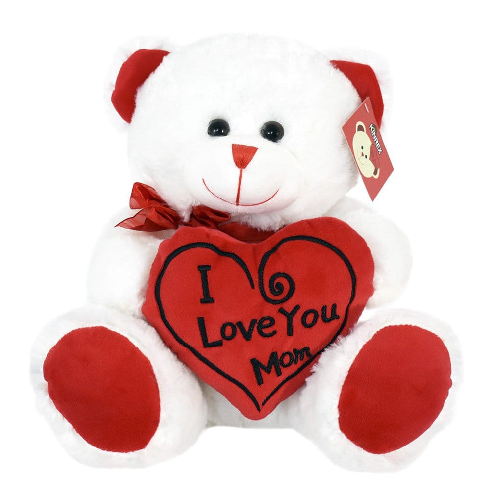 Teddy Bear For Mom - I Love You Mom Teddy Bear - Mother's Day Teddy Bear - KINREX LLC