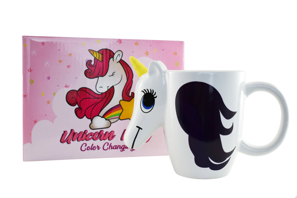 Unicorn Mug - Color Changing Unicorn Mug - KINREX LLC