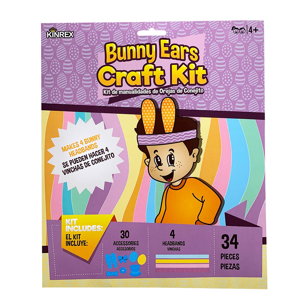 Easter Kit - Easter Day Craft Kit - Easter Decorating Kit - 34 Pieces - KINREX LLC