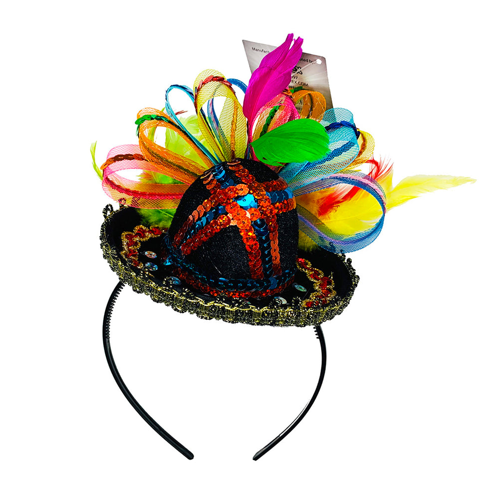 Cinco de Mayo Hat - Mexican Party Sombrero Headband - Top Mexican Party Hat - One Size Fits All - KINREX LLC
