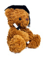 "Graduation Plush Teddy Bear - Brown Stuffed Animal with Graduation Cap - 11.81"" / 30 cm."