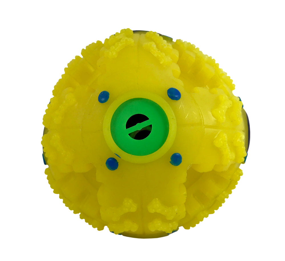 Dog Treat Ball - Dog Food Dispenser Toy
