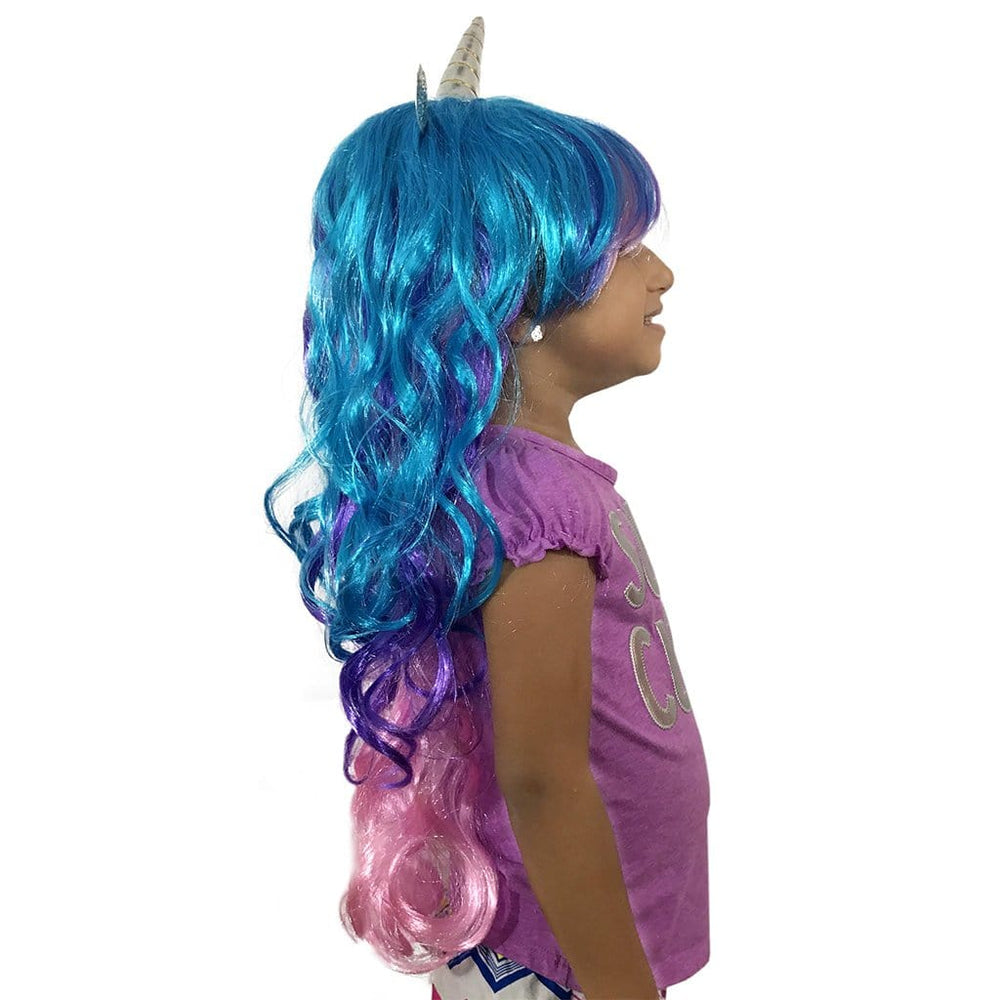 Unicorn Wig - Wig With Horn And Ears - Unicorn Wig For Kids, Teens And Adults