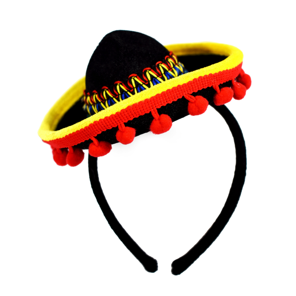 Cinco De Mayo Headbands - Sombrero Headband - One Size Fits All - KINREX LLC