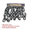 Halloween Plastic Chain Link - Grey and Black