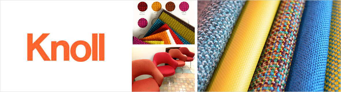 Knoll Fabrics, a selection of fabrics such as velvet, damask, cotton, silk, linen and sheers.