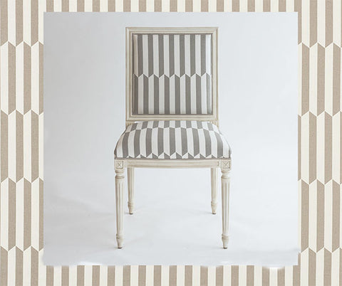 Chair Fabric- Schumacher- 176402-Maxwell- Taupe