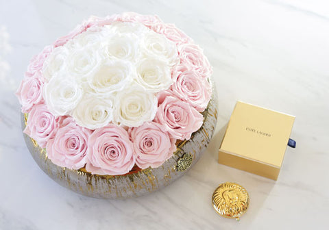 flowers and box