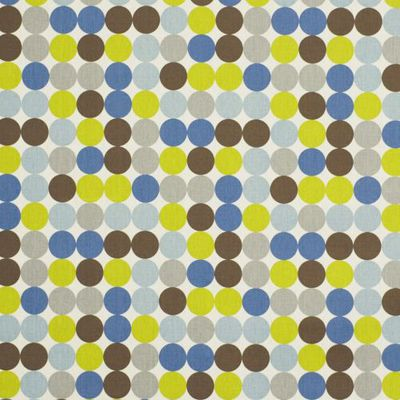 ROBERT ALLEN FABRICS-ZOO DOT -BLUE