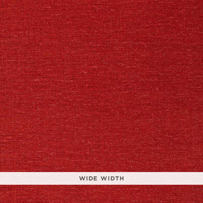 Schumacher Wallcovering - 5000865-Burlap Weave - Red