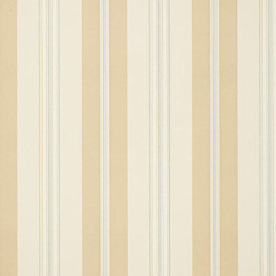 Schumacher Wallcovering - 5002480-Chalon Stripe - Vanilla