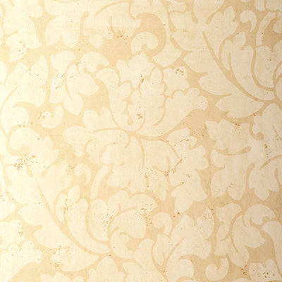 Schumacher Wallcovering - 5003691-Tolomei Damask - Sand