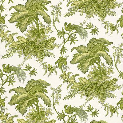 Schumacher Wallcovering - 5004053-Coconut Grove - Leaf