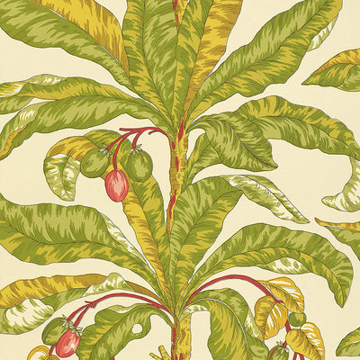 Schumacher Wallcovering - 5004063-Blair House Palm - Tropical