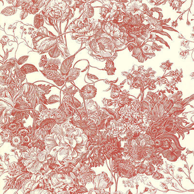 Schumacher Wallcovering - 5004093-Toile Florissante - Begonia