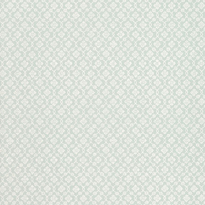 Schumacher Wallcovering - 5004142-Harbury Trellis - Aqua