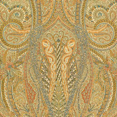 Schumacher Wallcovering - 5004191-Emile Cachemire - Spice