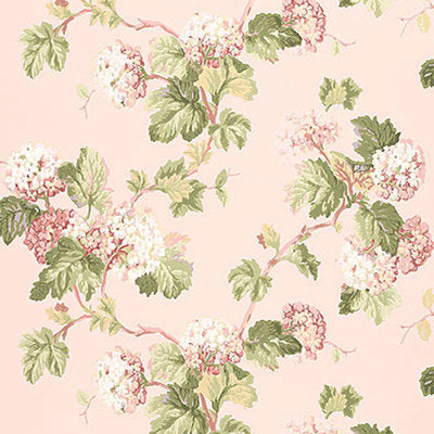 Schumacher Wallcovering - 5004370-Viburnum - Blush