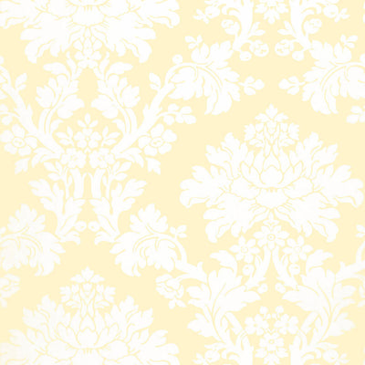 Schumacher Wallcovering - 5004461-Tierni Damask - Buttercup