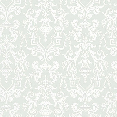 Schumacher Wallcovering - 5004482-Lido Damask - Haze