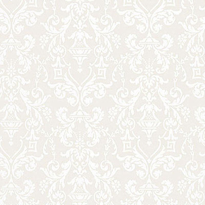 Schumacher Wallcovering - 5004483-Lido Damask - Dove