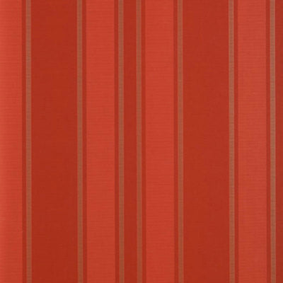 Schumacher Wallcovering - 5004563-Morgan Stripe - Coral