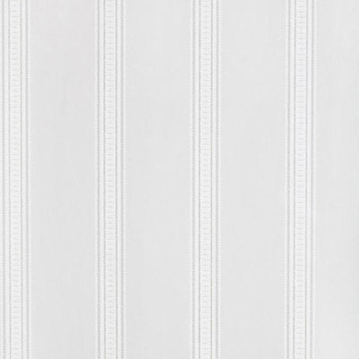 Schumacher Wallcovering - 5004583-Lorraine Stripe - Pewter