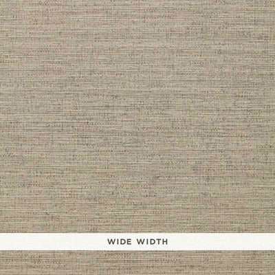 Schumacher Wallcovering - 5004874-Scrim Texture - Smoke