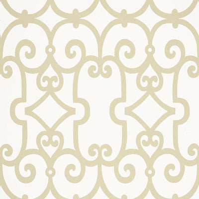 Schumacher Wallcovering - 5005052-Manor Gate - Sand
