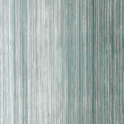 Schumacher Wallcovering - 5005713-Metallic Strie - Turquoise