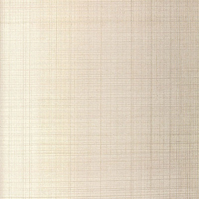 Schumacher Wallcovering - 5005782-Brushed Plaid - Oyster