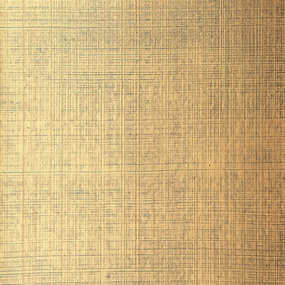 Schumacher Wallcovering - 5005784-Brushed Plaid - Gilded Teal